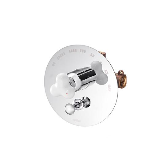 Concealed Valve W/Diverter & Check Valve W/O Inlet Stop Version(1~4 kg/cm^2)