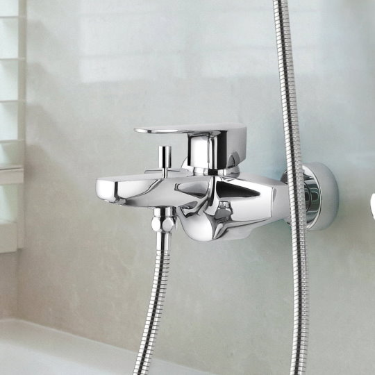 Pan II Bath/Shower Mixer Set