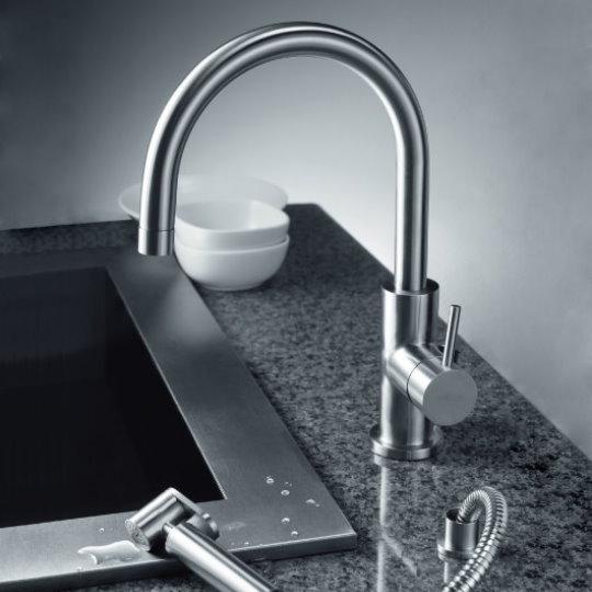 Still One Kitchen Faucet With Sprayer