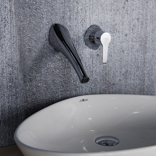 Nature Single-Handle Wall-Mounted Basin Faucet